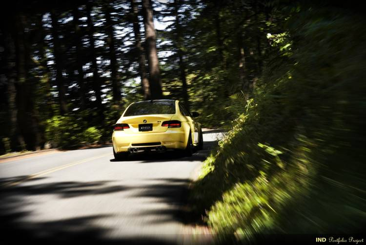 BMW M3 IND Dakar Yellow
