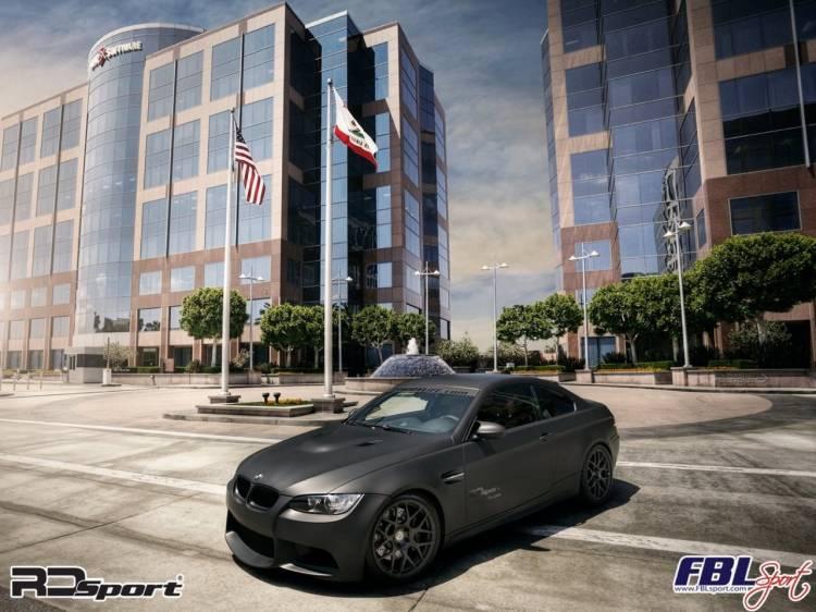 BMW M3 en negro mate