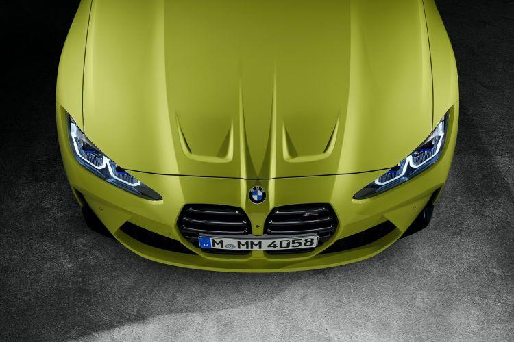 Bmw M4 Competition Coupe Amarillo Capo