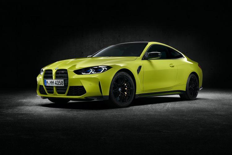 Bmw M4 Competition Coupe Amarillo Exterior