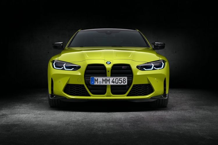 Bmw M4 Competition Coupe Amarillo Frontal