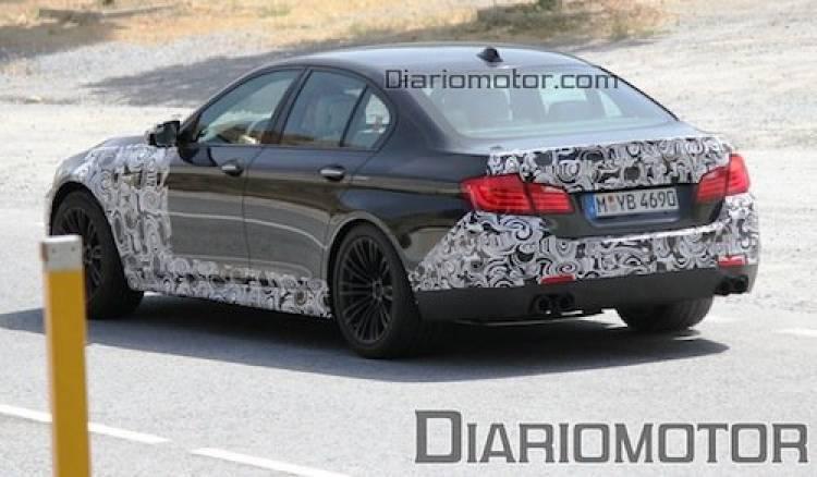 Fotos espía del BMW M5