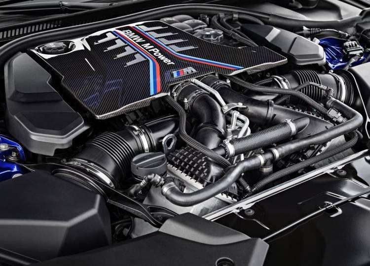 Bmw M5 2018 Motor