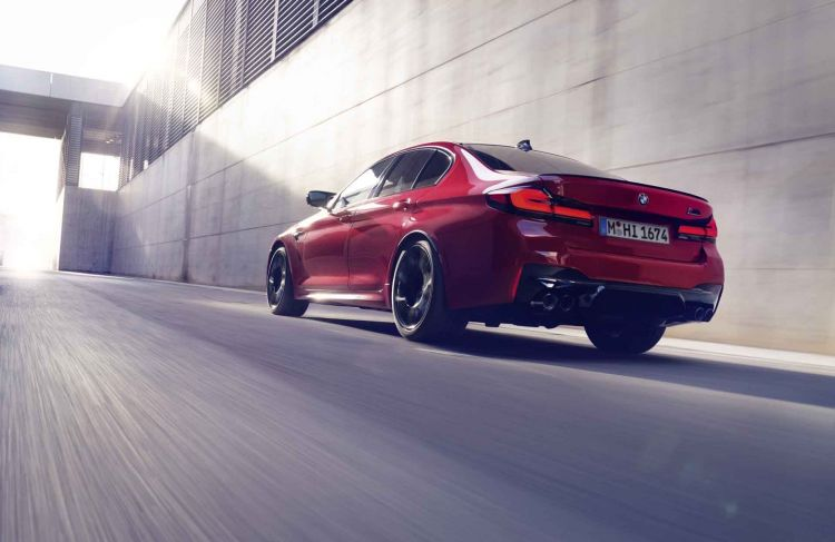 Bmw M5 Competition 2021 57