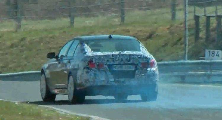 El nuevo BMW M5 ya quema rueda en Nürburgring