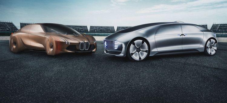 Bmw Mercedes Coche Autonomo