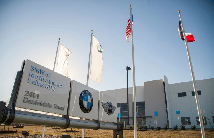 Bmw Opens New Regional Distribution Center In Lancaster, Tx