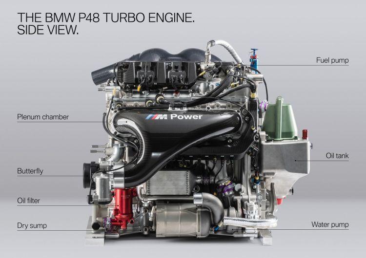 Bmw Motor Turbo Dtm 4