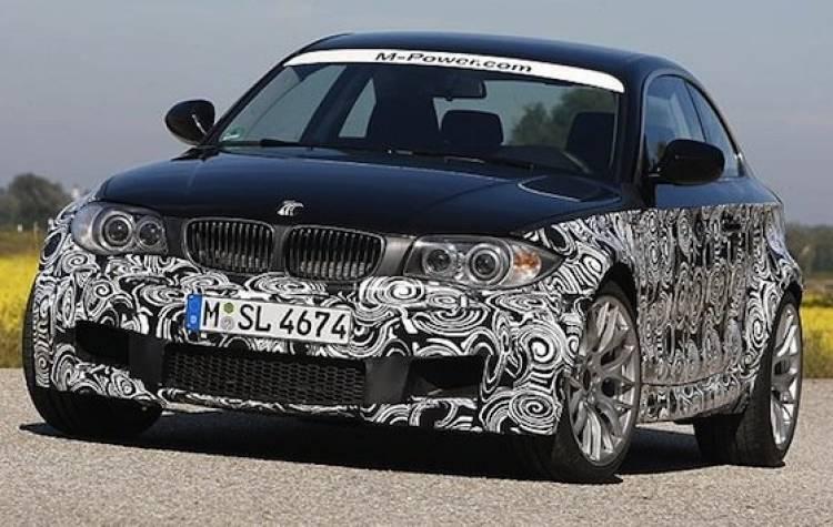 BMW Serie 1 M Coupé, fotos espía oficiales