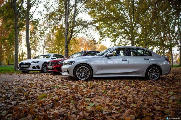 Bmw Serie 3 Vs Audi A4 Vs Mercedes Clase C 14