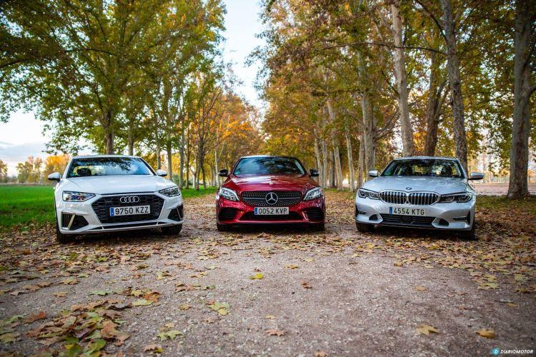 Bmw Serie 3 Vs Audi A4 Vs Mercedes Clase C 8