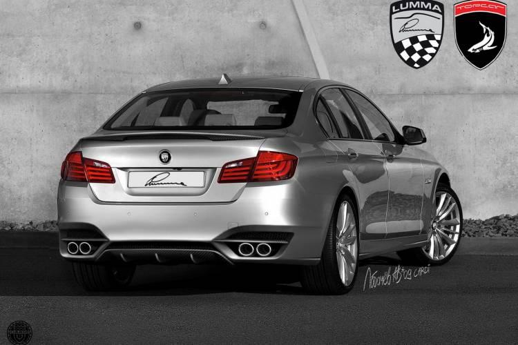 BMW Serie 5 2011 por TopCar, Cardi y Lumma Design