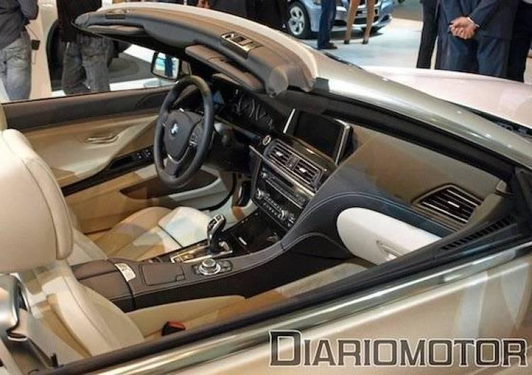 BMW Serie 6 Cabrio 2012 en el Salón de Barcelona