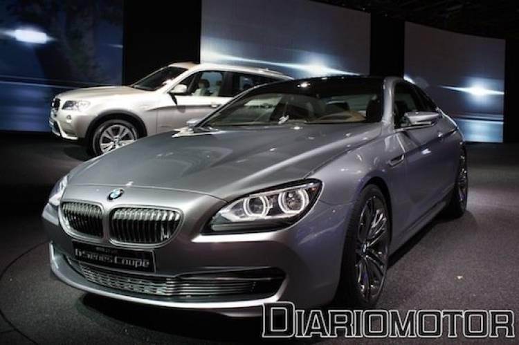 BMW Serie 6 Coupé Concept en el Salón de París