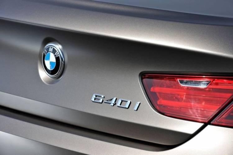 BMW Serie 6 Gran Coupe, aquí está el rival de Audi A7 y Mercedes CLS