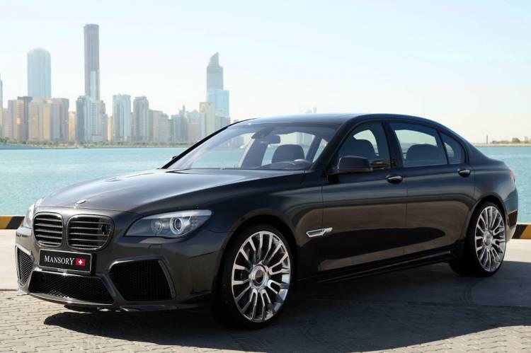 BMW Serie 7 por Mansory