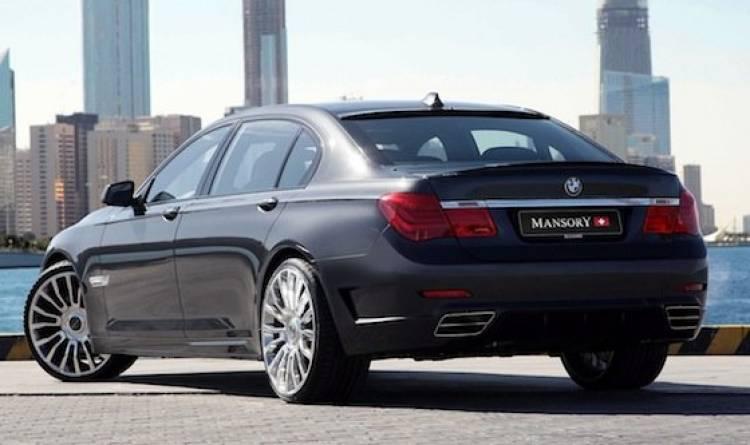 BMW Serie 7 2009 tocado por Mansory