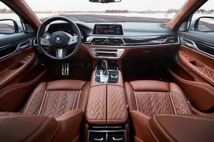 Bmw Serie 745e Hibrido Interior 2019 03