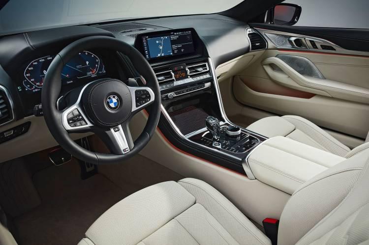 Bmw Serie 8 Cabrio 2019 Interior 31