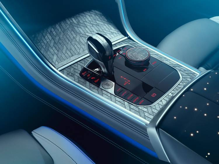 Bmw Serie 8 M850i Night Sky Interior 07
