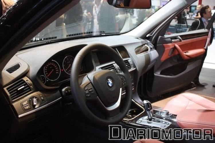 BMW X3 2011 en el Salón de París