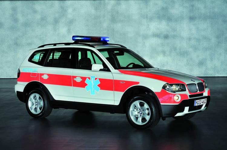 Bmw X3 xDrive20d Emergency Rescue Vehicle