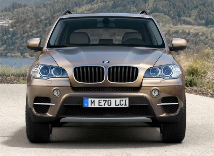 Posibles imágenes del BMW X5 2011