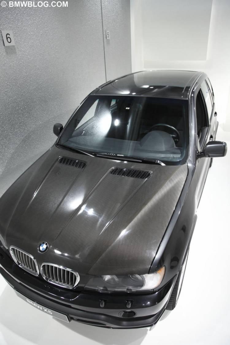 Prototipo de BMW X5 en CFRP