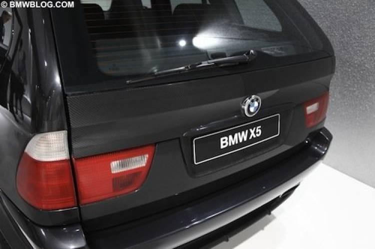 Prototipo de BMW X5 en CFRP (plástico reforzado con fibra de carbono)