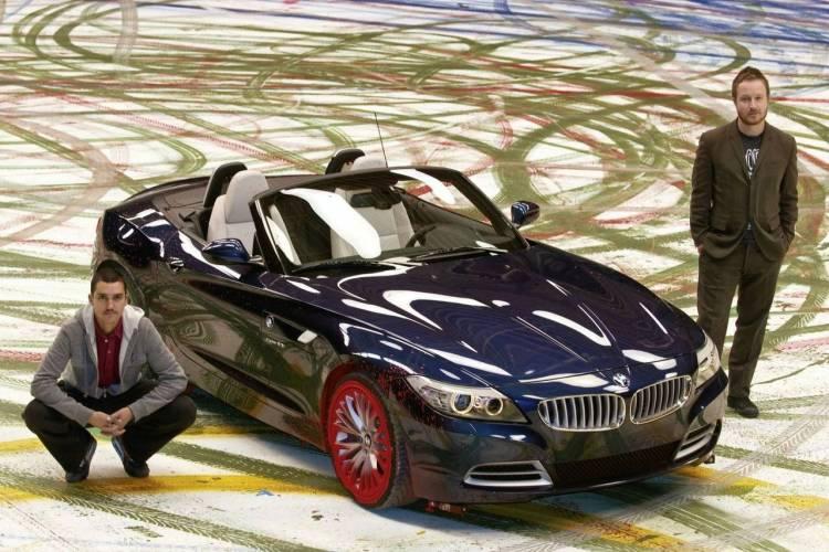 BMW Z4 Painting Dynamics