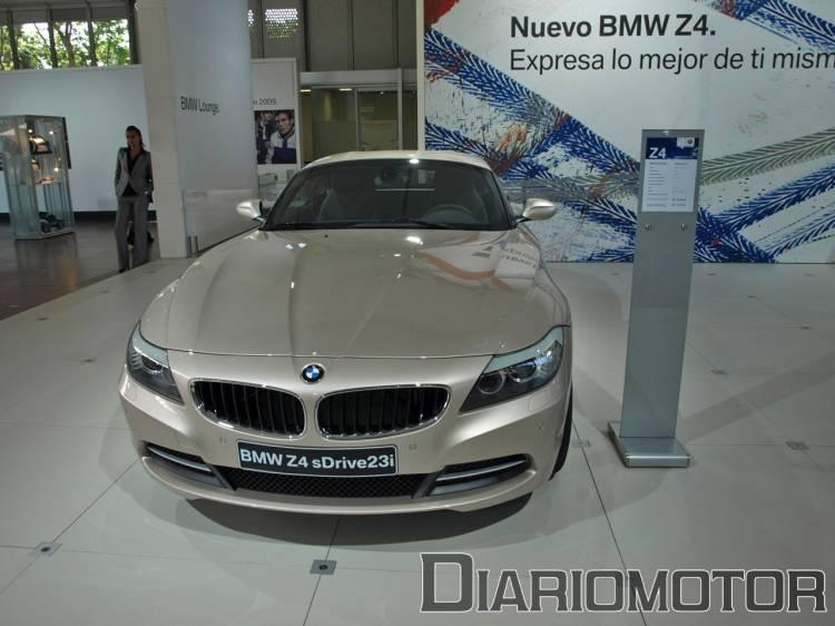 BMW Z4 en el Salón de Barcelona