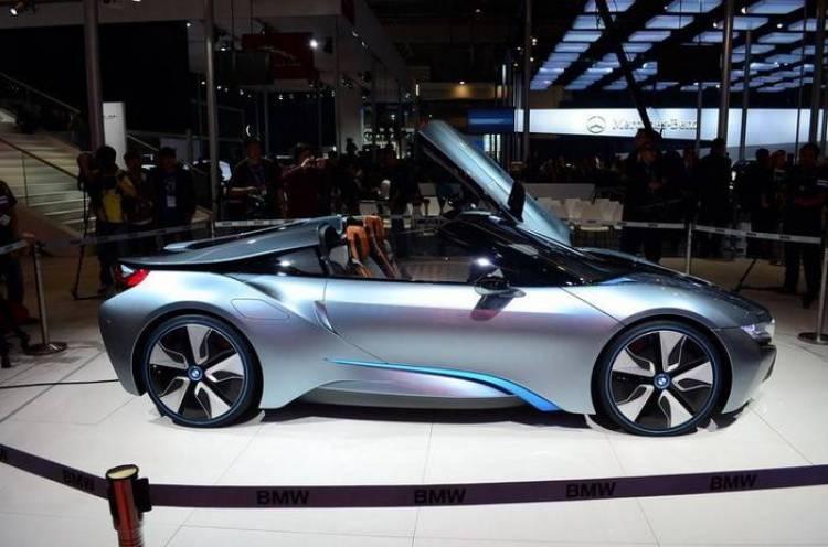 el Honda NSX y el BMW i8 Spyder en el Salón de Pekín