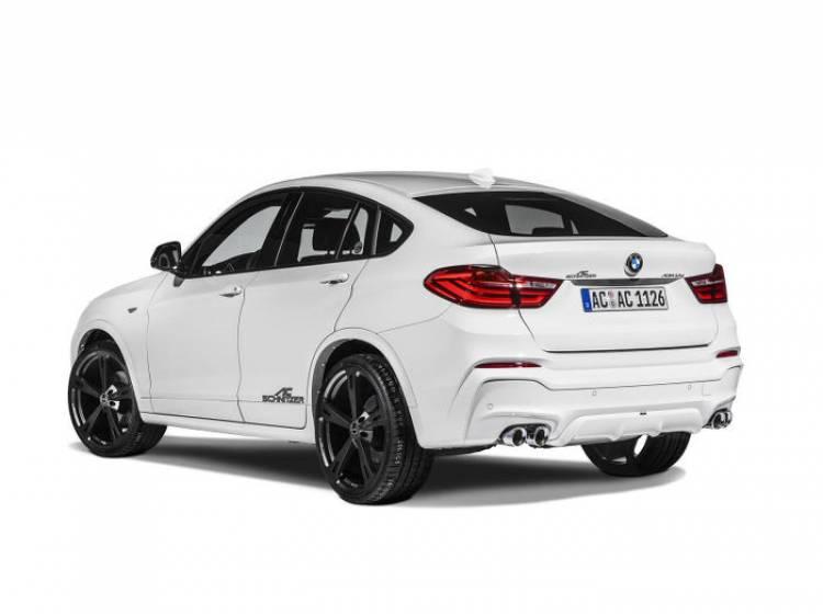 BMW X4 y AC Schnitzer: esta es la primera preparación del nuevo X4