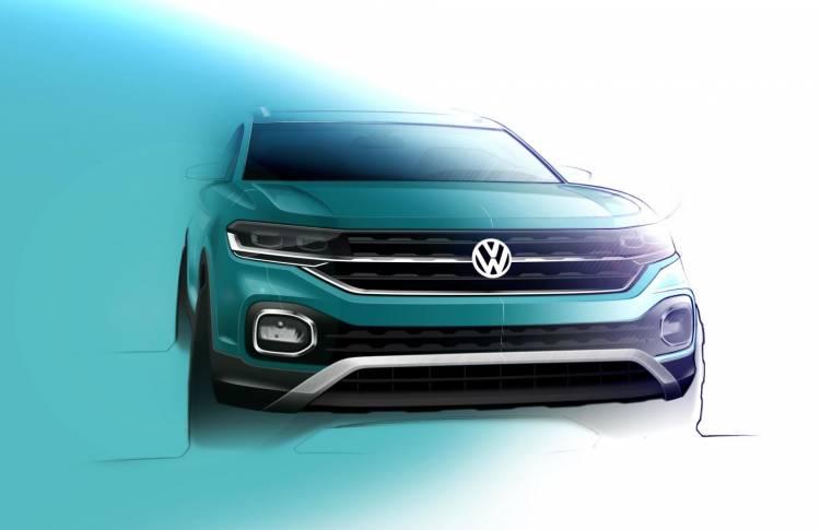 Bocetos Volkswagen Suv 1605865 Volkswagen T Cross Sketch