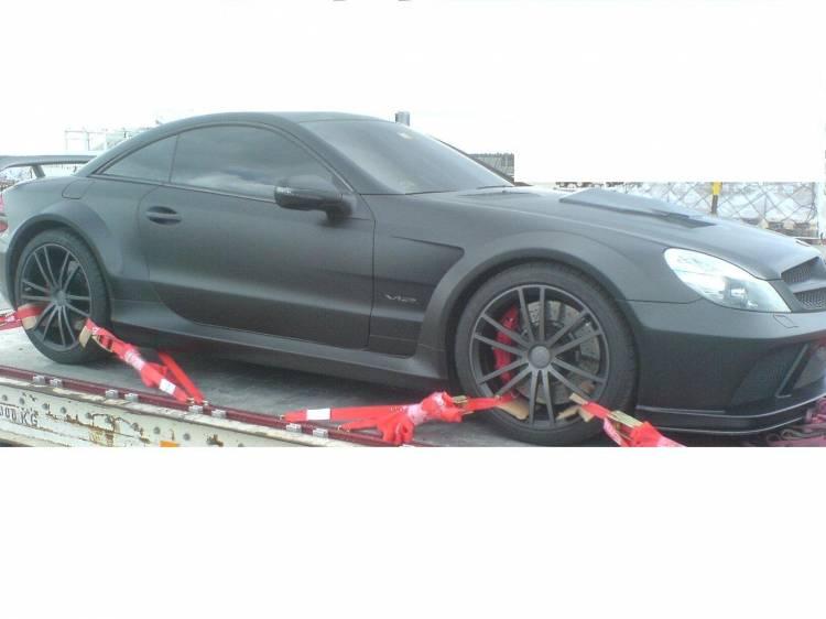 Mercedes SL 65 AMG Black Series Brabus Vanish