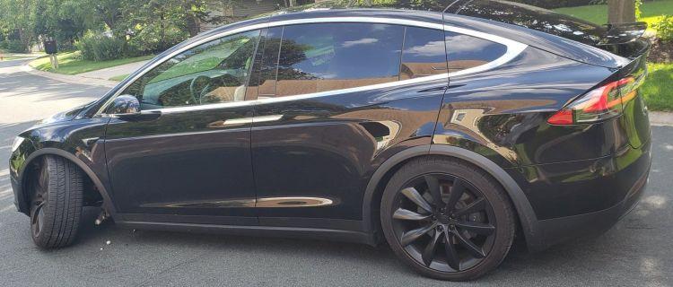Brazo Suspension Tesla Model X 01