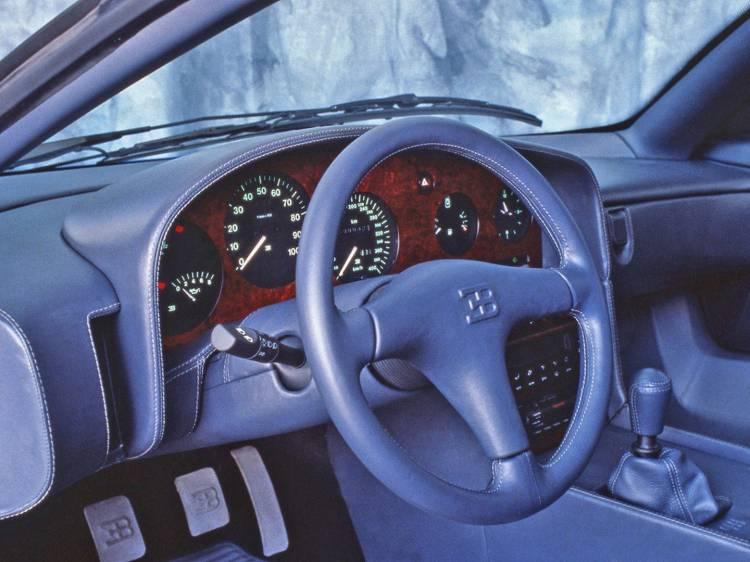 Bugati Eb110 Interior 1