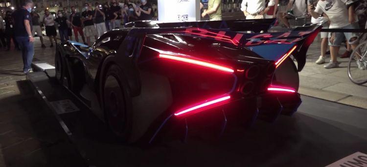Bugatti Bolide Sonido