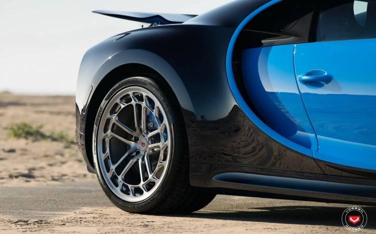 Bugatti Chiron Llantas Vossen 0718 01