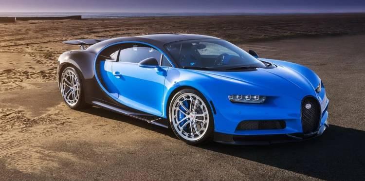 Bugatti Chiron Llantas Vossen 0718 02
