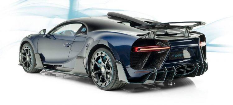 Bugatti Chiron Mansory P
