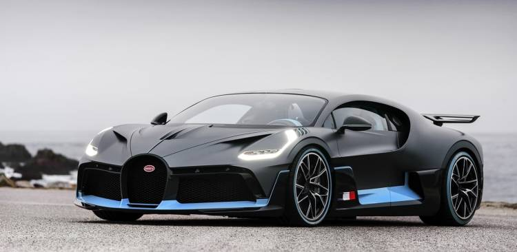 Bugatti Divo Frontal Delantera 0119 01 019