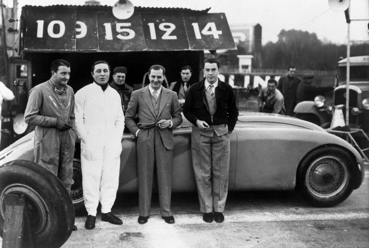 Bugatti Ficha Marca 1