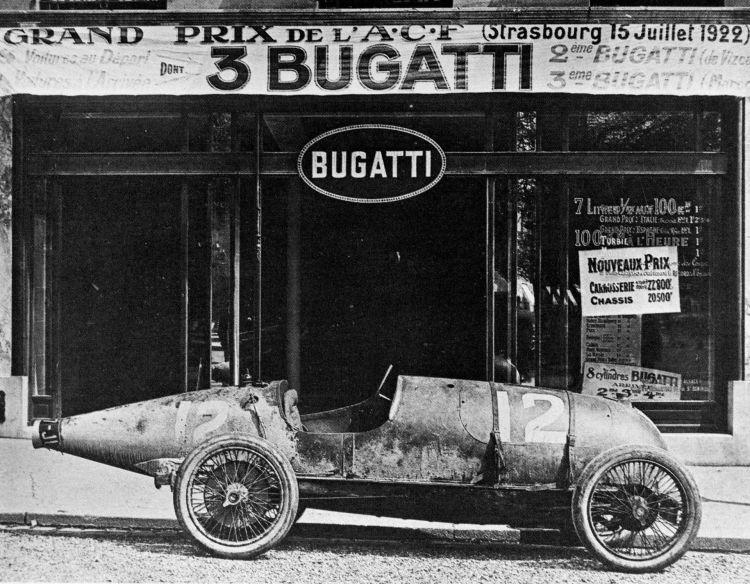 Bugatti Ficha Marca 2