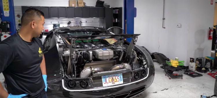 Bugatti Veyron Cambio Aceite Filtros