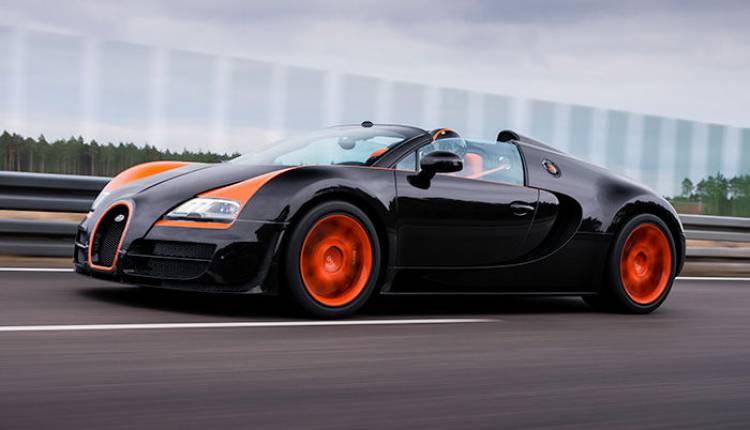 Bugatti Veyron Grand Sport Vitesse World Record Car