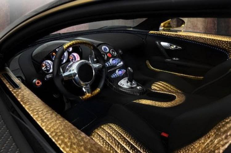 Bugatti Veyron Linea Vincero dOro