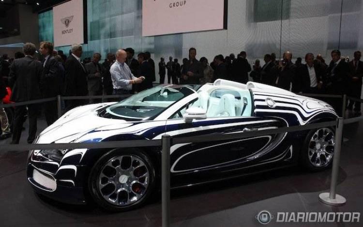 Bugatti Veyron Grand Sport L'Or Blanc en Frankfurt 2011
