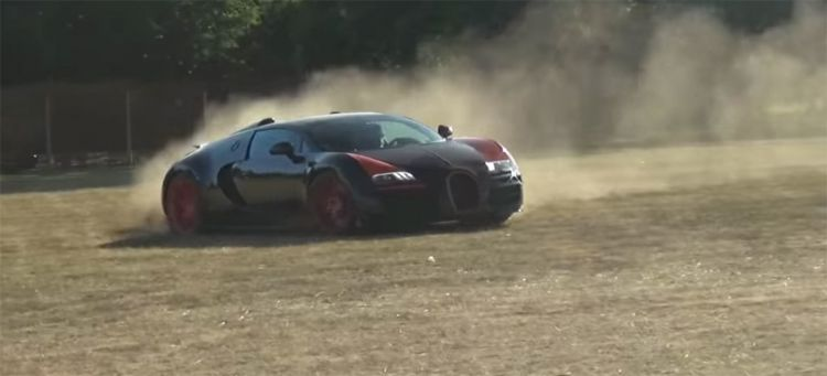 Bugatti Veyron Tramo De Tierra Video