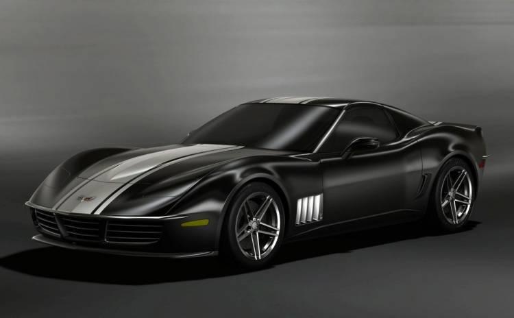 C3R Corvette Stingray Retro Design Project
